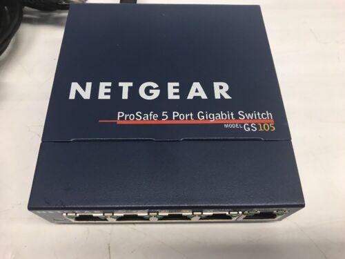 Netgear FS105 v2 ProSafe 5-port Fast Ethernet Network Switch