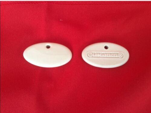 Ceramic Blanks 100 Ivory Longaberger Herb Markers 1 /& 7//8 x 1 inch