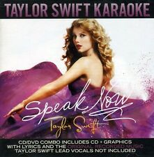 Taylor Swift - Speak Now Karaoke [New CD] With DVD