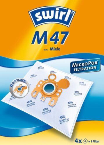 4 swirl m47 poussière Filtre sac M 47 MicroPor