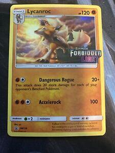 Lycanroc-SM118-PRERELEASE-PROMO-Holographic-Rare-Near-Mint-Pokemon-Card