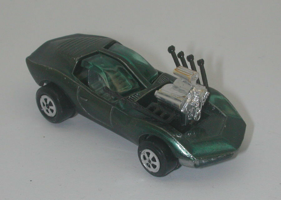 Johnny Lightning Green Vicious Vette  oc17300