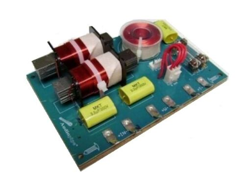800 Watts 4 or 8 Ohm 2-Way Passive 3000 Hz KHP Crossover w// Fuse