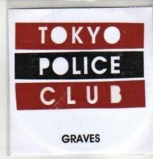 (CM896) Tokyo Police Club, Graves - 2008 DJ CD