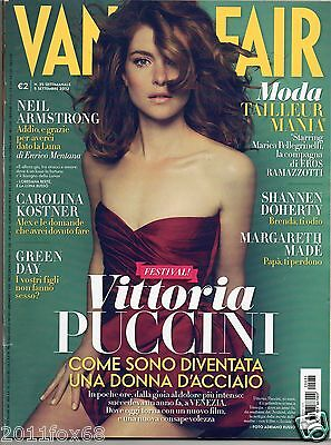 vanity fair n.35 green day vittoria puccini carolina kostner shannen doherty