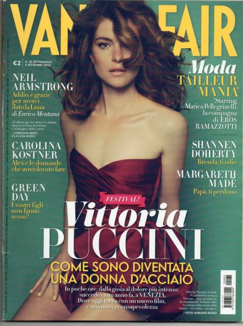vanity fair n.35 green day vittoria puccini carolina kostner shannen doherty