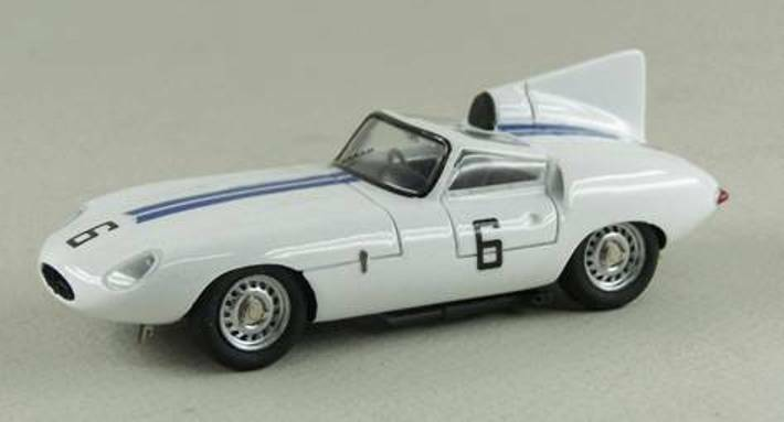 Jaguar e2a 2 No. 6 Cunningham Le Mans 1960  Built Up roseo 1 43  magasin en ligne