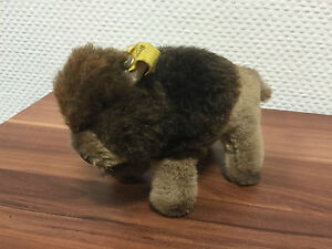 Steiff-1458-12-Bison-Bully-12-cm-Top-Condition