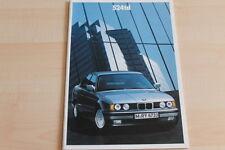 85101) BMW 524 td Prospekt 01/1990