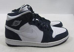 san francisco 1fb46 24ead Image is loading Nike-AIR-JORDAN-1-PHAT-034-White-White-