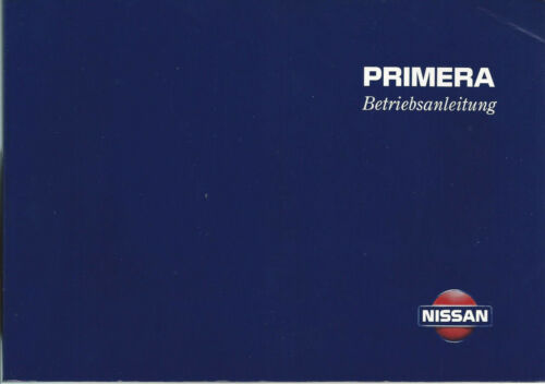 NISSAN Primera manuale 1998 p11 MANUALE ISTRUZIONI BA