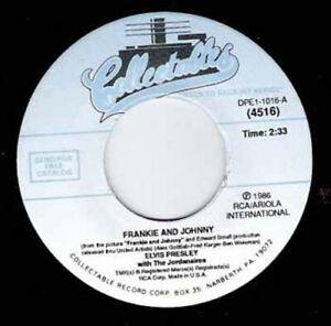 """ELVIS PRESLEY - Frankie And Johnny 7"""" 45"""