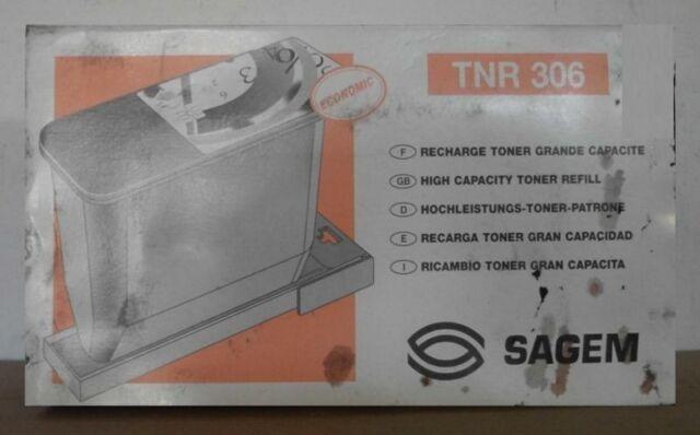Sagem TNR 306  Toner  High Capacity mit Tonerindikator  OVP B