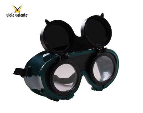Viola Valente Flip Up Welding Goggles EN 166 EN 169 EN 175
