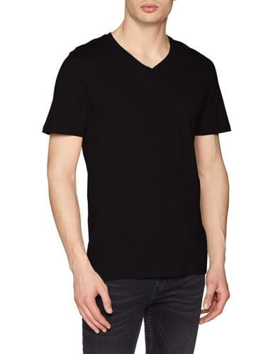 Jack /& Jones Mens Plain Tee V-Neck Classic T-Shirt Casual Summer Cotton Tops