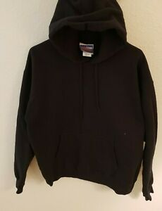 Hanes-Men-s-Ultimate-Cotton-Heavyweight-Pullover-Hoodie-Sweatshirt-Black-M