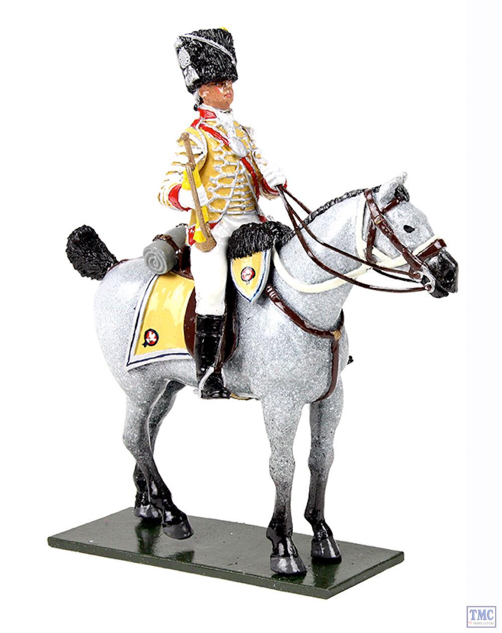 B47059 W.Britain British 10th Light Dragoons Trumpeter 1795 Regiments Classic