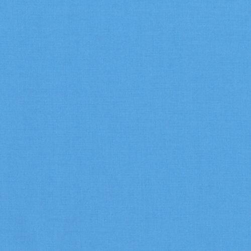 "ROBERT KAUFMAN /""KONA COTTON SOLID/"" Blue #2 by the 1//2 yard"
