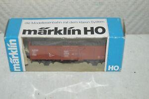 WAGON-TOMBEREAU-A-CHARBON-DB-MARKLIN-NEUF-TRAIN-LOCO-CAR-BOITE-WAGEN-TANK