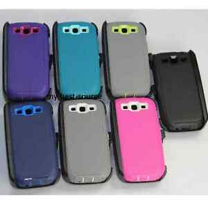 For-Samsung-Galaxy-S3-Case-Cover-Built-In-Screen-Clip-Fits-Otterbox-Defender