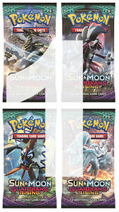 Trading Cards Pokemon Sun /& Moon Guardians Rising Sealed Booster Pack SM-2 TCG