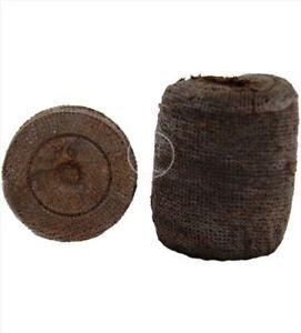 Peat Pellets Seed Starting Growing Supplies Jiffy Peat Pellets 75ct 42mm