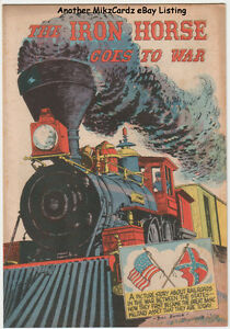 THE-IRON-HORSE-GOES-TO-WAR-May-1960-Comic-Book-Association-of-American-Railroads