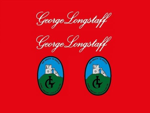 Geo Longstaff Bicycle Decals-Transfers-Stickers #4