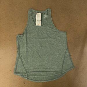 Sweaty-Betty-Women-039-s-Size-Medium-Sage-Green-Energize-Workout-Tank-Top-NWT