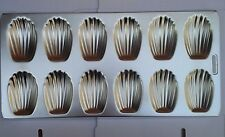 HIC Mrs. Anderson's Baking Madeleine Pan, 12-cup TIN