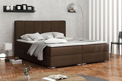 Boxspringbett Schlafzimmerbett Alvara 160x200cm Inkl.bettkasten üPpiges Design