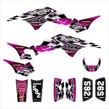 TRX 250R Graphics for Honda ATV racing decal sticker kit #2500 Hot Pink