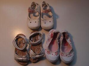 1640bb3ccb3 La imagen se está cargando Lote-calzado-nina-N-22-Sandalias-chanclas -zapatillas-
