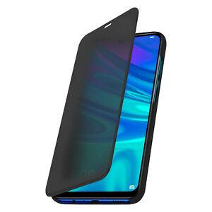 Custodia-Flip-Mirror-CASE-HUAWEI-2019-Smart-P-Honor-10-Lite-in-piedi-COPERTINA-NERA