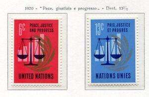 19095-UNITED-NATIONS-New-York-1970-MNH-Nuovi-Peace