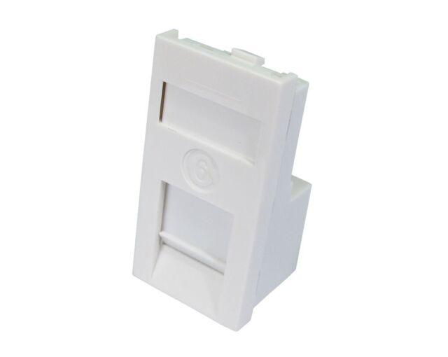 Multimedia Wall Socket Face Plate For HDMI VGA PHONO RCA USB RJ45 Composite AV
