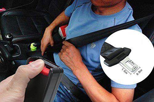 Universal Car Seat belt Safety Belt Extender Extension 36CM × 5CM 2PCS