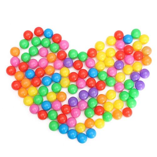 100pcs 4//5.5cm Plastic Colorful Baby Kids Secure Ocean Ball Pits Swim Pool Toy