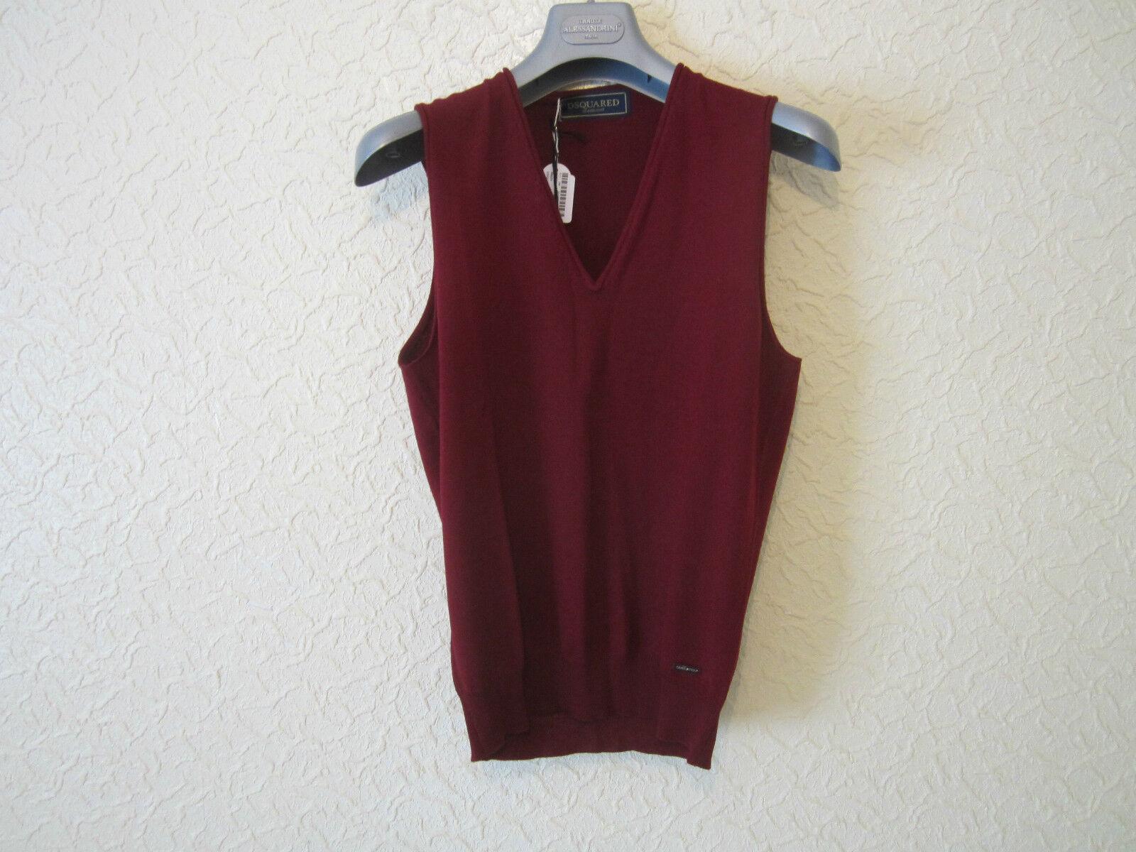 D'Squarot Classic Knit wolleSleeveless schweißer Vest
