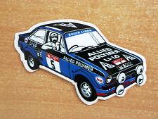 Roger Clark Ford Escort Mk2 Rally / Motorsport Sticker Decal