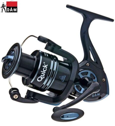 DAM Quick Fighter Pro Metal Fishing Spinning Reel FD2+1bb 320-360FD Spool