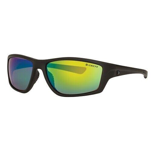 Greys G3 Sonnenbrille Matt Carbon Green Mirror