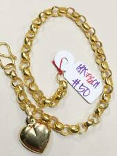 SOLID 18K Chinese Gold Bracelet - 7.5 inches 5.0 g