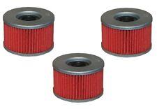 Oil Filter 3-Pack for HONDA 1981-82 GL500 SILVER WING 1982-86 CBX550 HF111