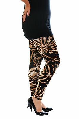 Nuova Linea Donna Leggings Donna Taglie Forti Abstract Stampa Lunghezza Intera Pantaloni Nouvelle-mostra Il Titolo Originale