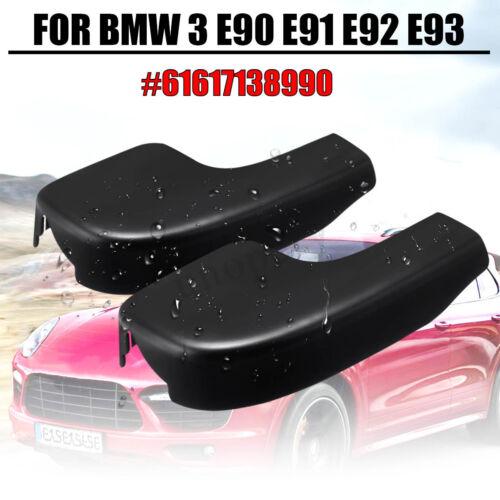 2x New Front Windshield Wiper Arm Covers Caps For BMW 3 E90 E91 E92 #61617138990