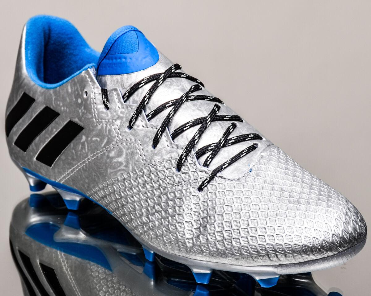 adidas messi nouvelles 16,3 fg hommes crampons au football de nouvelles messi s79631 bleu argent ea60f2