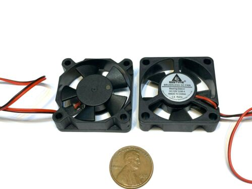 2 Pieces Gdstime 35mm 35x10mm 3510 DC 12V 2Pin mini Ventilation Cooling Fan A16