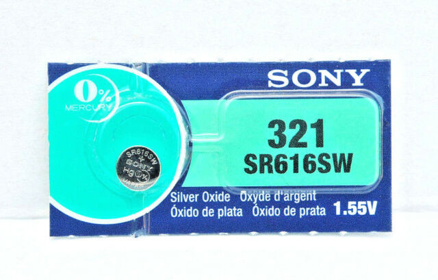 1x SONY 321, SR616SW Silver Oxide MADE IN JAPAN EXPIRY 11/2020 or later MELB