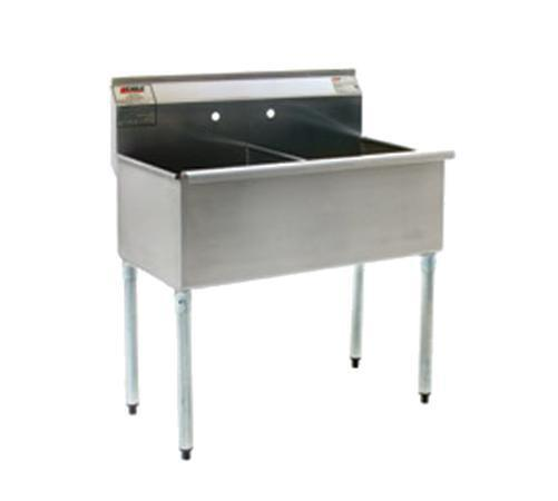 Eagle Group Stainless Steel Utility Sink 18in X 21in 2 Compartment Online Ebay